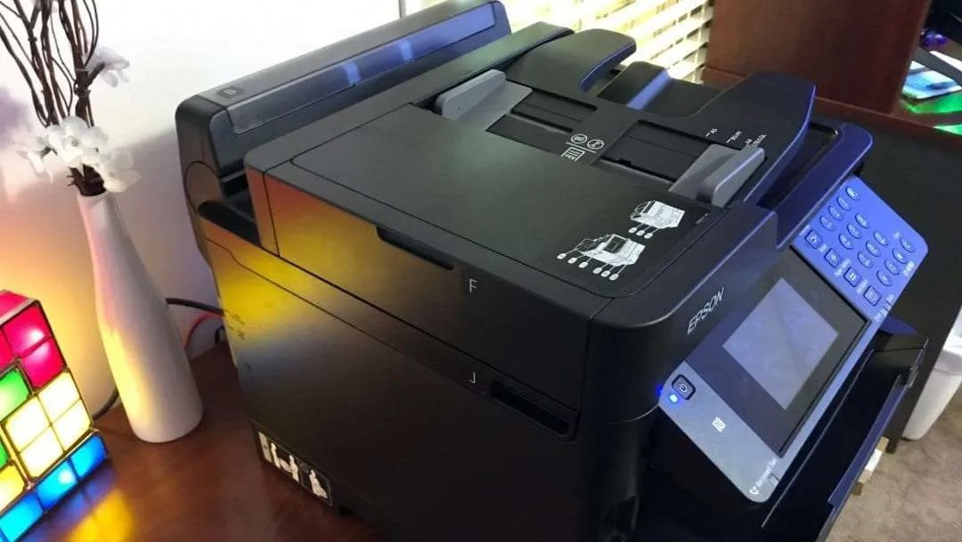 Epson WorkForce Pro ET-8700 EcoTank All-in-One Supertank Printer REVIEW