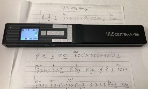 IRIScan Book 5 WiFi Scanner REVIEW Quickly digitize your books and papers