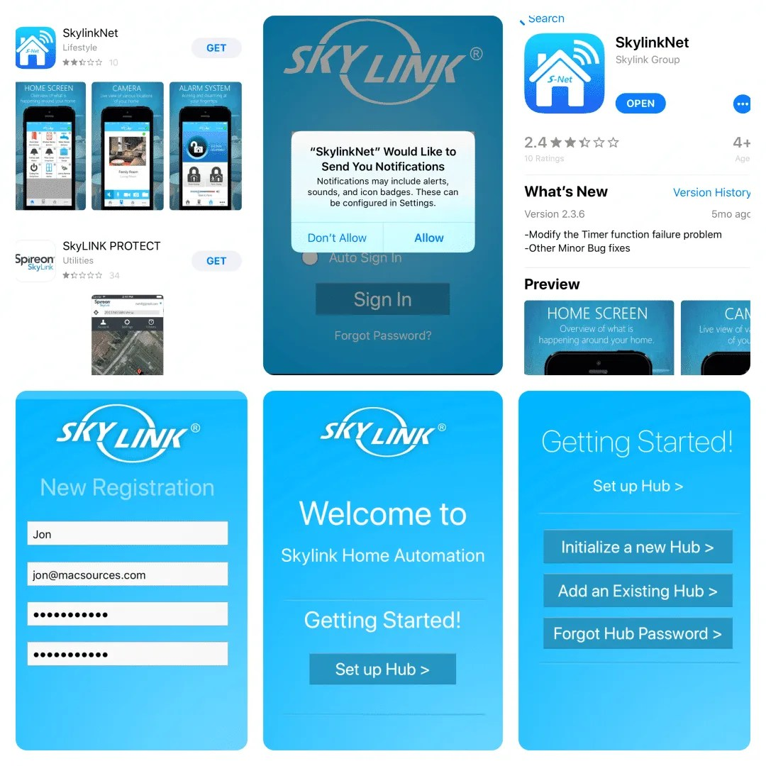Skylink App