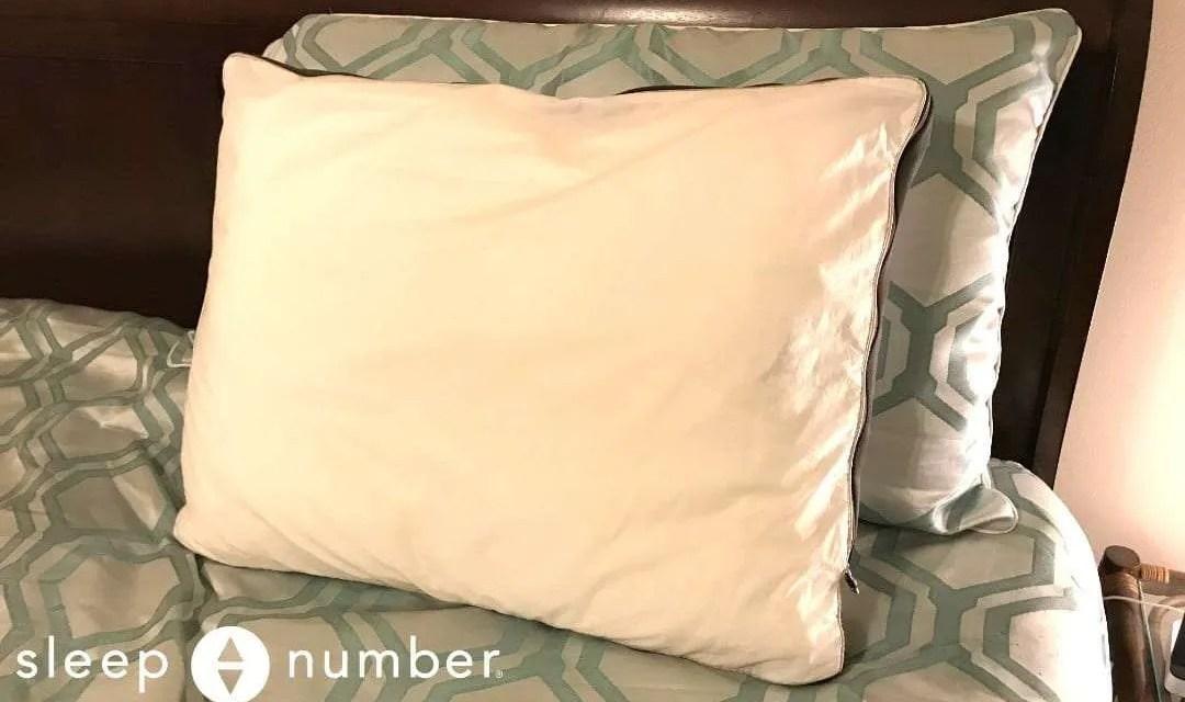 Sleep Number PlushComfort Pillow REVIEW