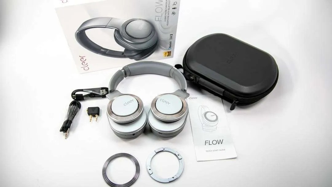 Cleer FLOW Wireless Noise Canceling Headphones REVIEW