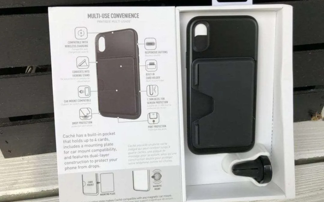 SKECH CACHÉ iPhone X Case REVIEW Maximal Versatility