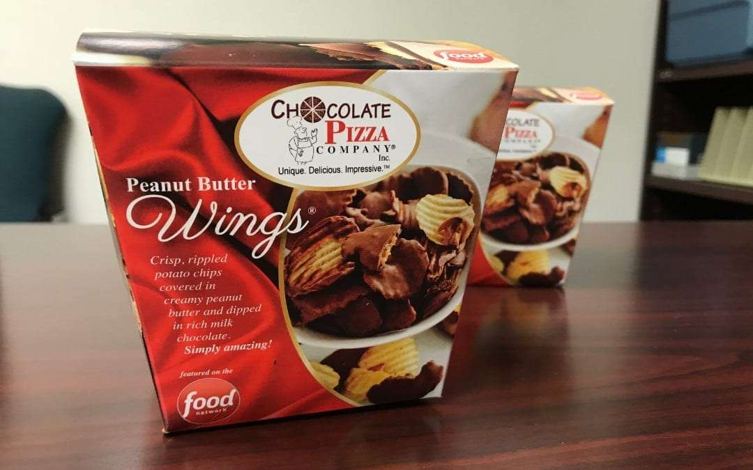 Peanut Butter Wings by Chocolate Pizza Company REVIEW