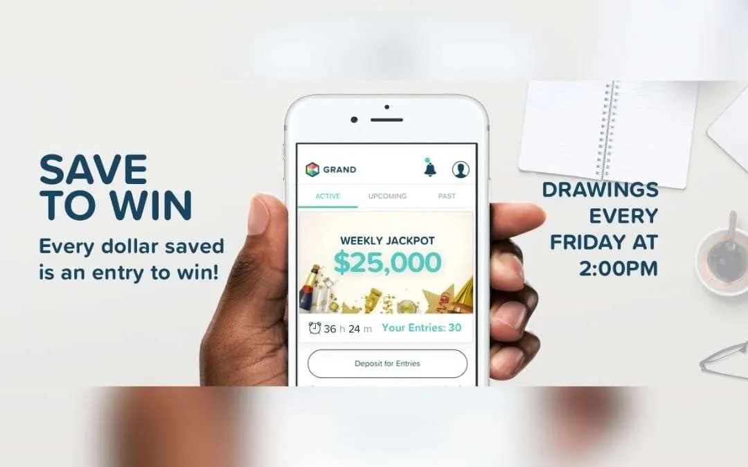 GRAND Attacks National Savings Crisis with new Save-to-Win, Prize-Linked Savings Service and Mobile App NEWS