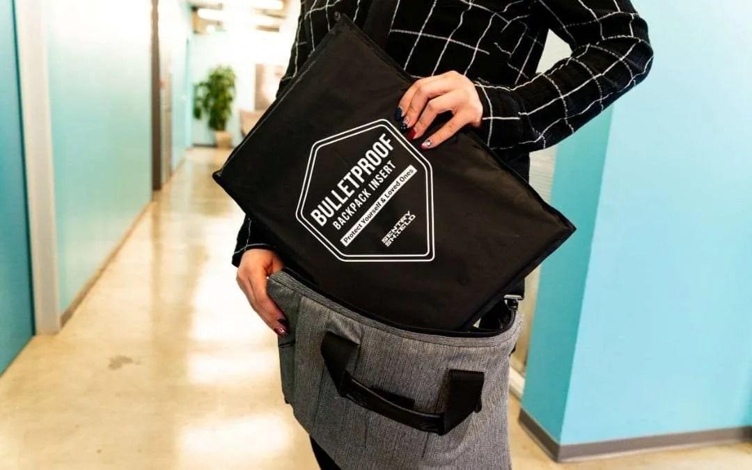SentryShield Introduces Bulletproof Backpack Insert NEWS