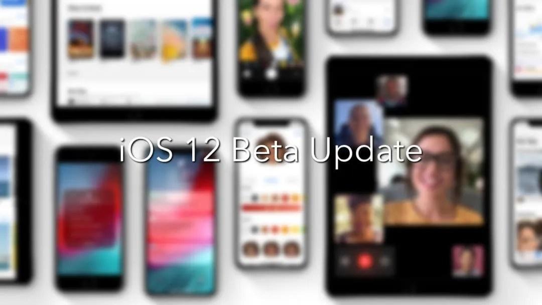 Apple Releases iOS 12 Beta Build Update NEWS