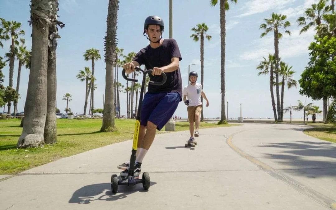 Cali Drift Blurs the Line between Skateboard and Scooter NEWS