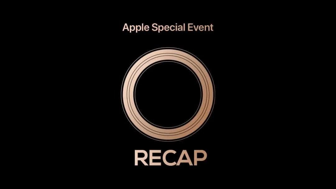 Apple Special Event iPhone Announcement RECAP