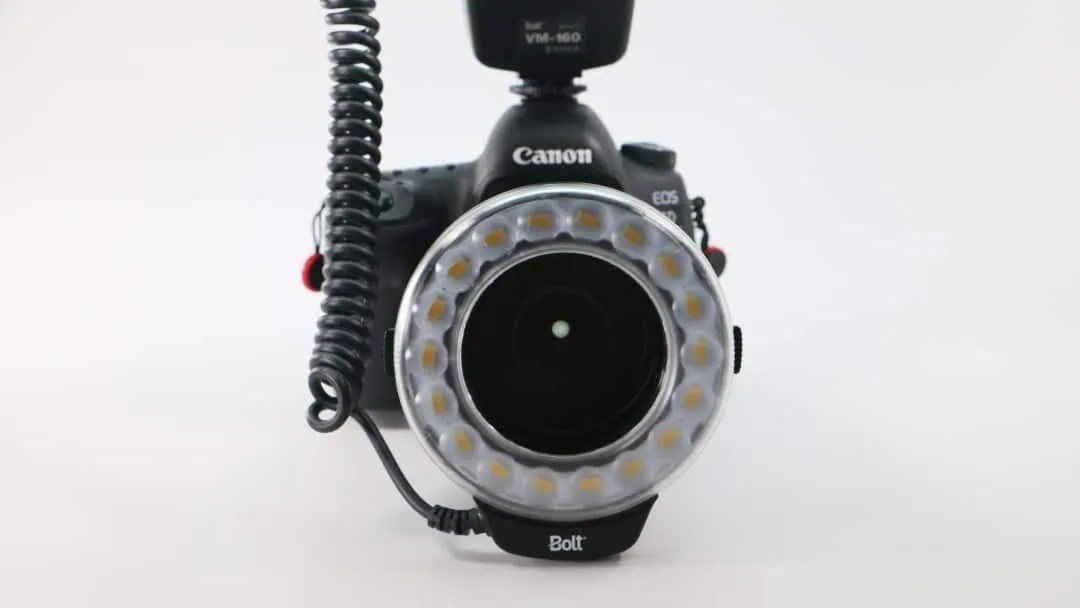 Bolt VM-160 Macro Ring Light REVIEW