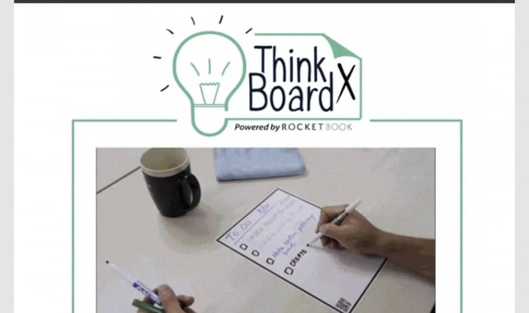 Rocketbook Think Board X 21st Century White Board