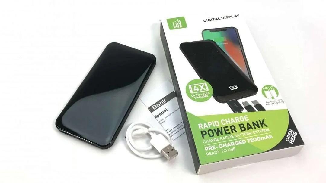 7200 Rapid Charge Power Bank