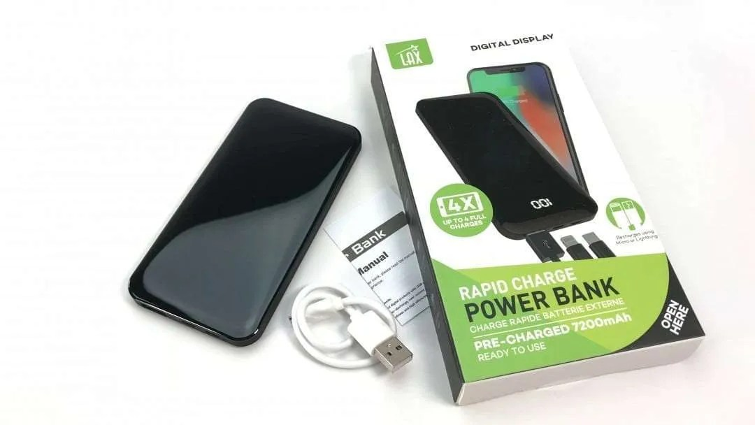 7200 Rapid Charge Power Bank