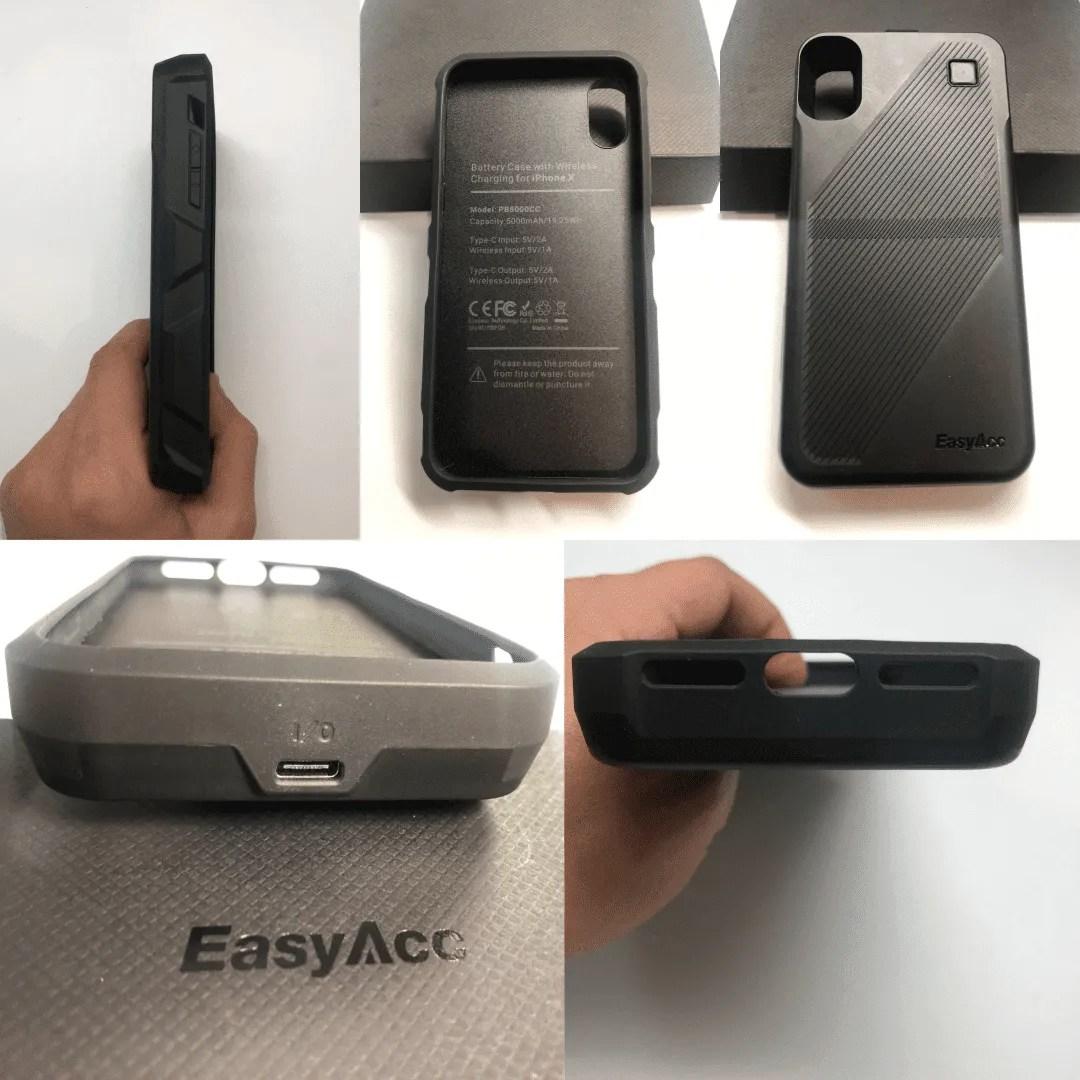 EasyAcc Wireless 5000 mAh phone case