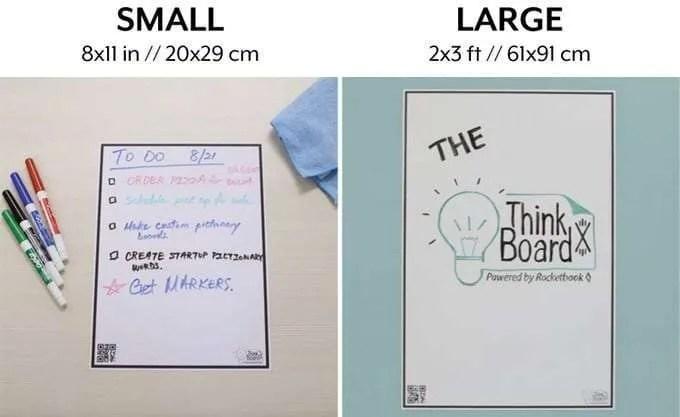 Think Board X Rocketbook