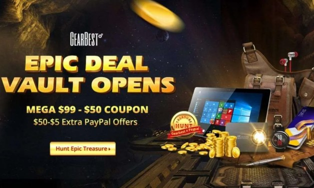GearBest September Treasure Hunt