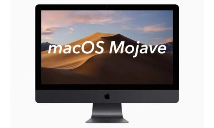 Moving into macOS Mojave