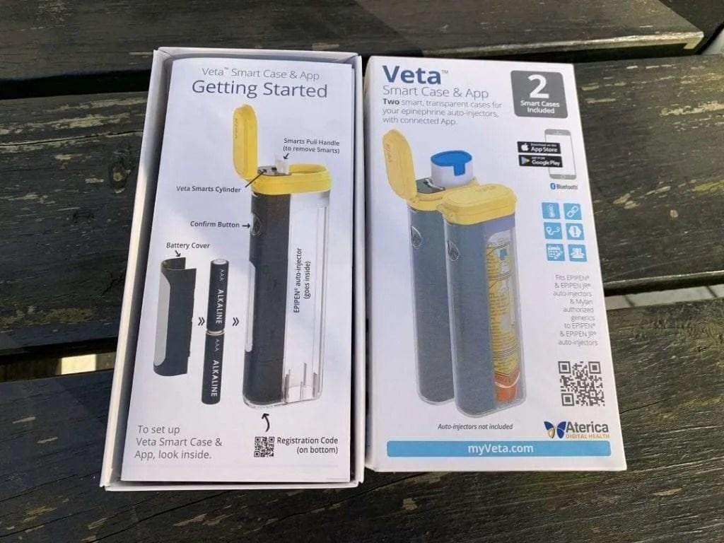 hight resolution of veta smart case and app