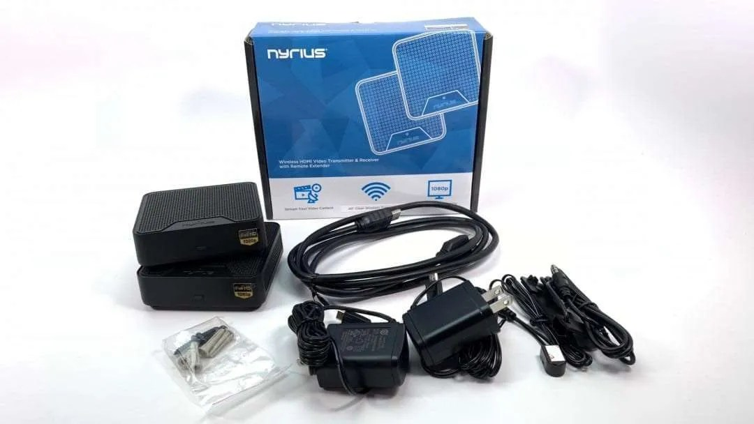 Nyrius ORION Home Wireless HD Video Transmitter and Receiver REVIEW