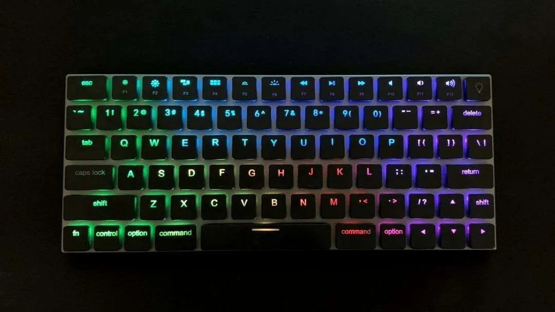 Vinpok Taptek Wireless Mechanical RGB Keyboard For Mac REVIEW