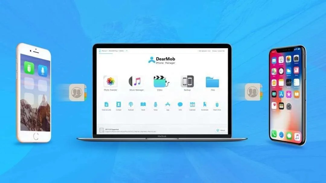 DearMob – How to Backup iPhone Contacts to Mac without iTunes
