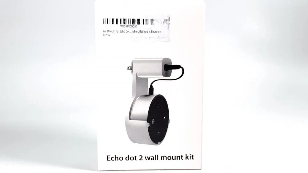 Upduro Echo dot 2 Wall Mount Kit REVIEW
