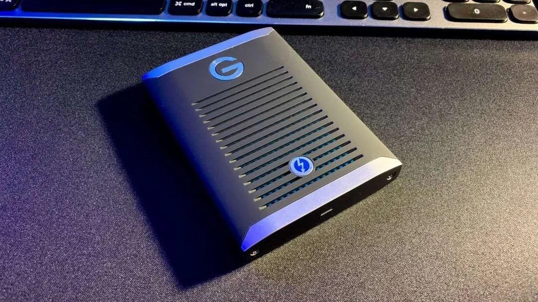 G-Drive Mobile Pro SSD Portable Hard Drive REVIEW