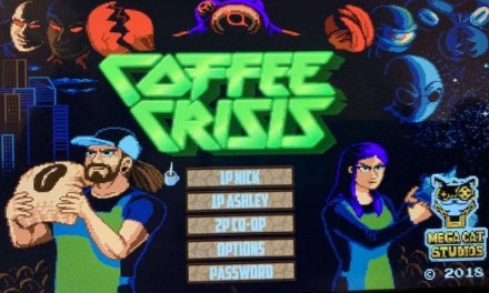 Coffee Crisis Nintendo Switch REVIEW Side Scrolling Action Game