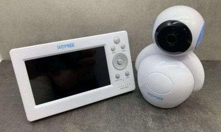 HOMIEE 720P Digital Wireless Baby Monitor REVIEW No Internet No Problem
