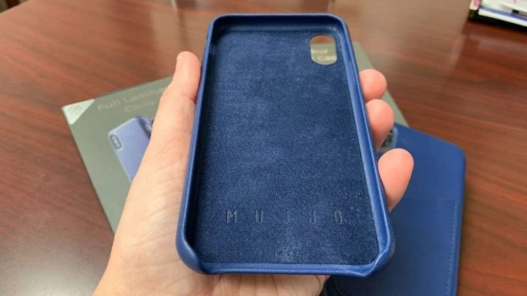 MUJJO Leather iPhone Cases REVIEW