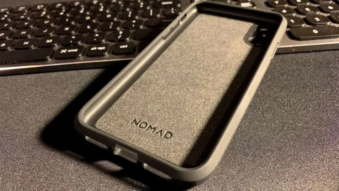 new styles 69765 fddf0 NOMAD Rugged Case iPhone XS – Moment Lens Reader REVIEW | Mac Sources