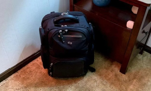 SOLO Lexington Commuter Backpack REVIEW