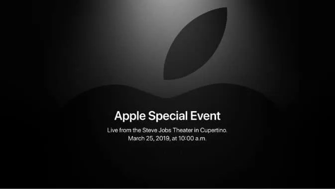 Apple Special Event Planned for March 25 NEWS
