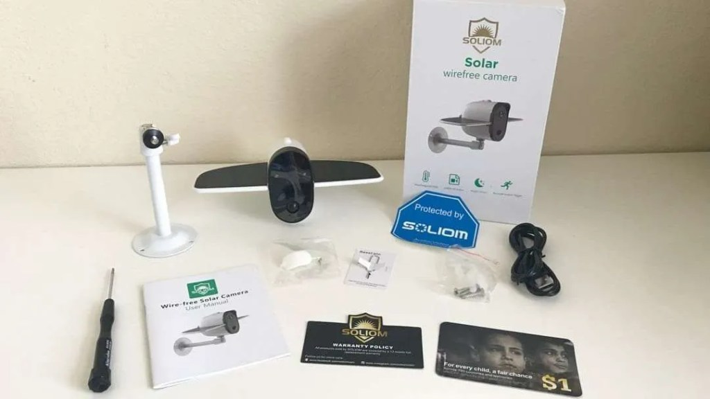 Soliom Solar Wirefree Camera REVIEW