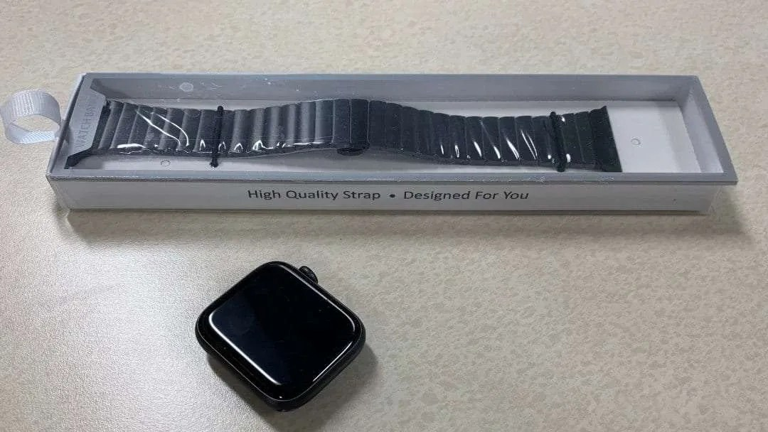 SupWatch Luxury Band for Apple Watch 44mm REVIEW Class up your Apple Watch