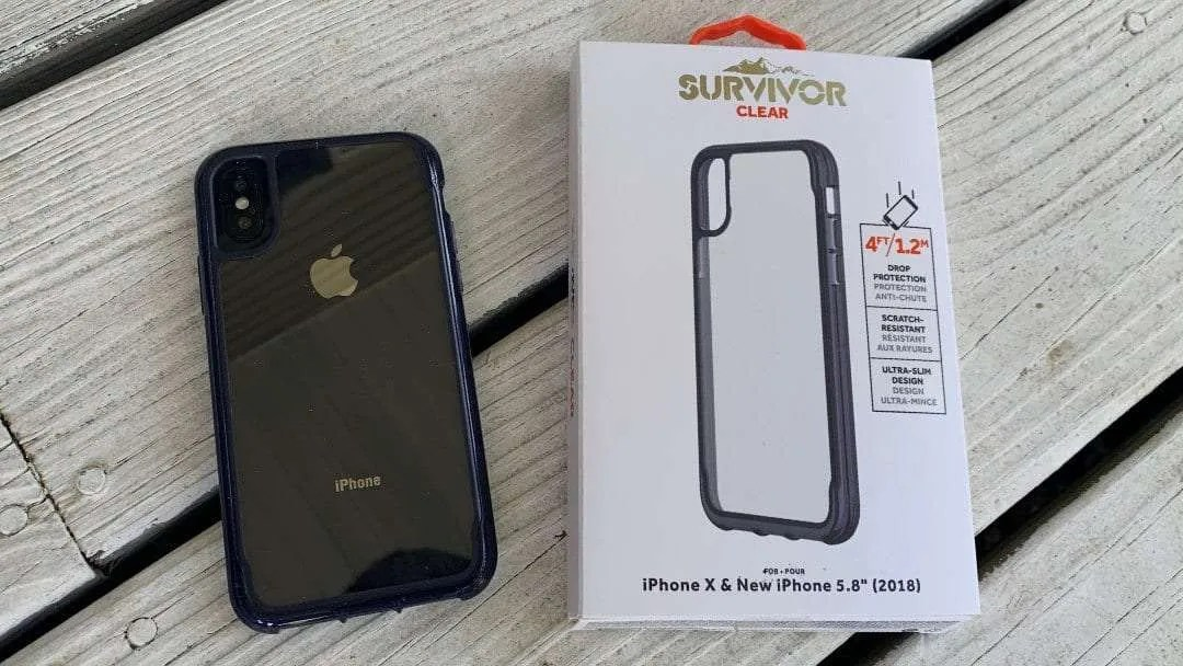 Griffin Survivor Clear Case for iPhone X and XS REVIEW
