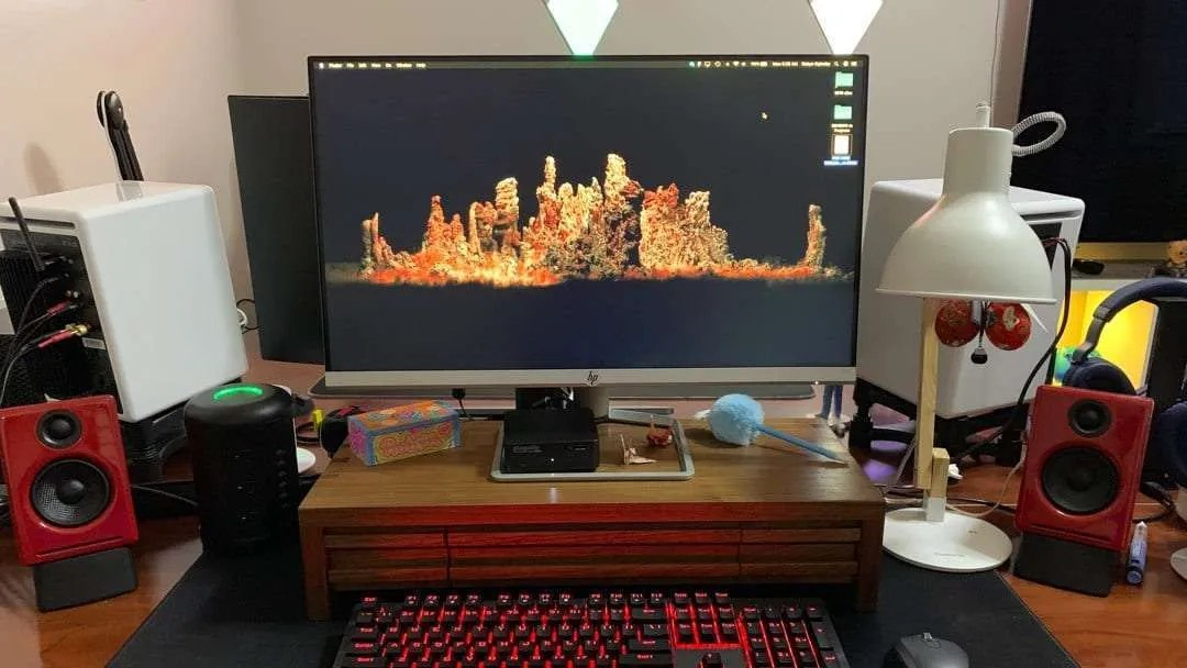 """24f 23.8/"""" IPS LED FHD FreeSync Monitor HP Natural Silver"""