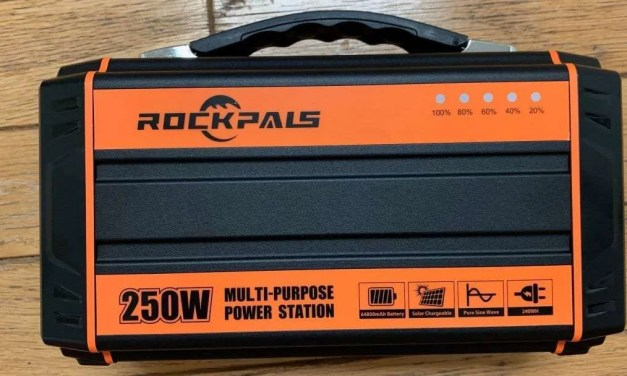 Rockpals 250W Multi-Purpose Power Station REVIEW Power your Darkness