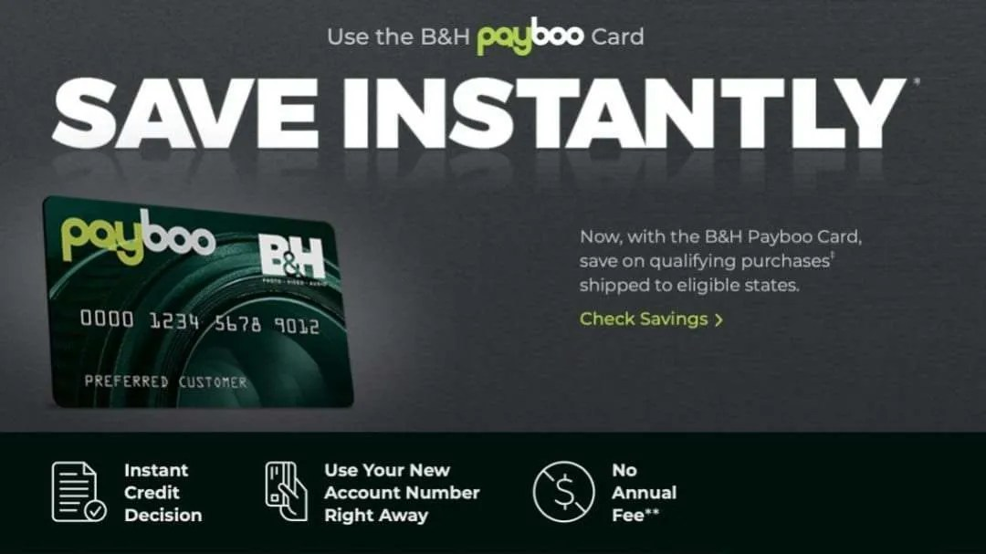 B&H Photo Launches Payboo Card NEWS