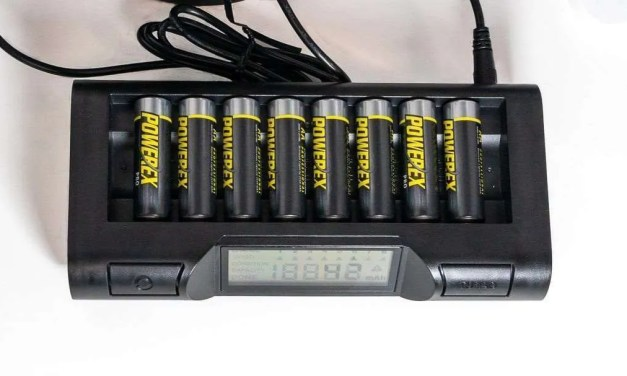 Powerex MH-C980 Turbo Charger-Analyzer for 8 AA AAA Batteries REVIEW