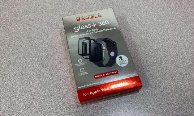 Invisible Shield Glass+ 360 Full Body Impact & Scratch Protection System for Apple Watch REVIEW
