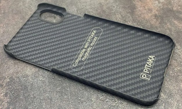 Pitaka iPhone 8 Aramid Case REVIEW Carbon Fiber Protection