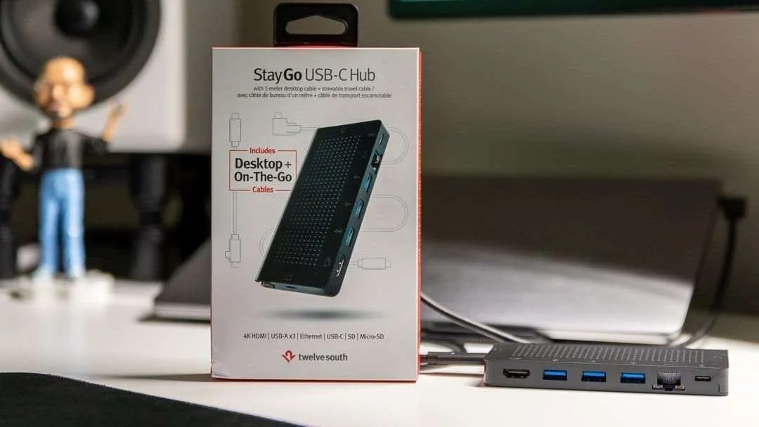 Twelve South StayGo USB-C Hub REVIEW