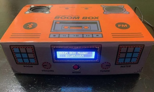 CreationCrate BoomBox REVIEW Subscription STEM