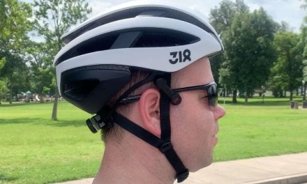 FiTech Sports Technology 318 SH50 Road Bike Helmet REVIEW Bone conductive sound in a protective shell