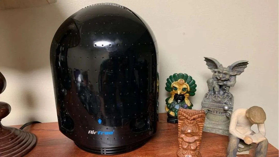 AirFree P3000 Iris Air Purifier REVIEW Eliminate the Back to School Plague