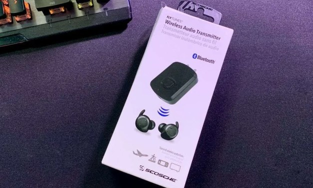 FlyTunes Wireless Audio Transmitter from Scosche REVIEW