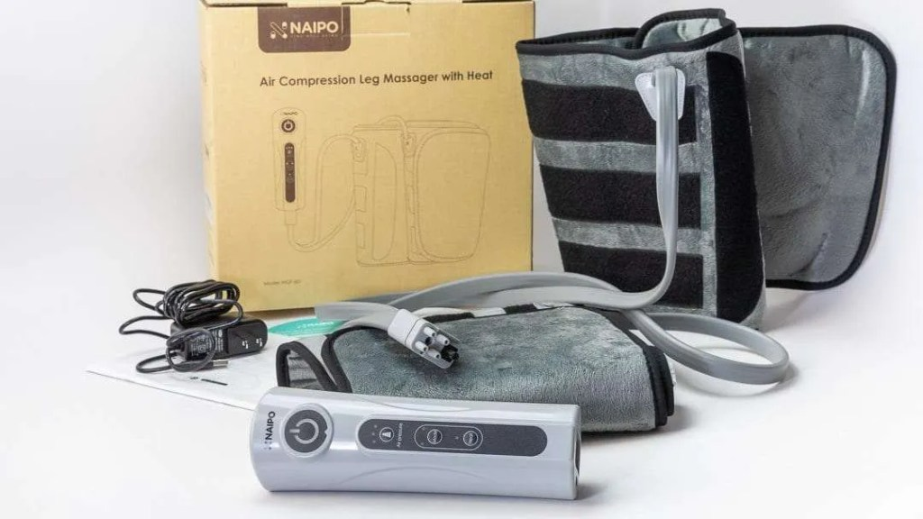 Naipo Leg Massager with Heat REVIEW