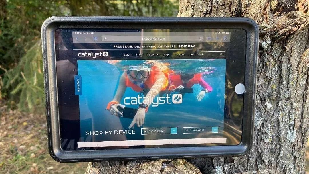 Catalyst iPad Mini 5 Waterproof Case REVIEW