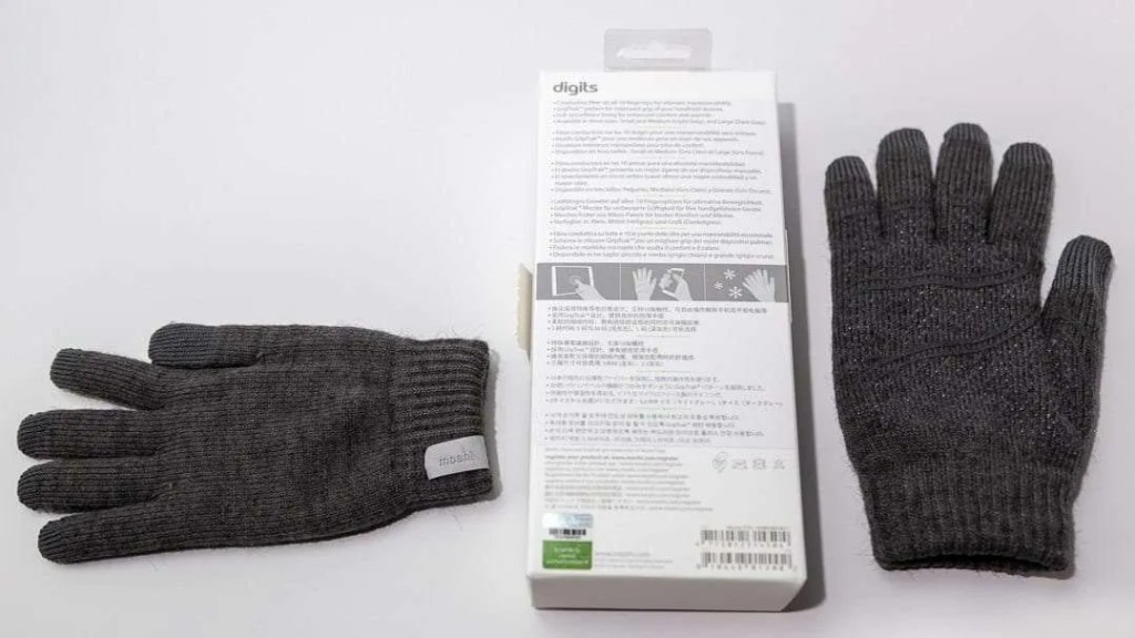 Moshi Digits Touchscreen Gloves REVIEW
