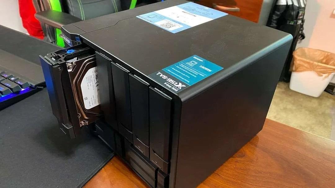 QNAP TVS-951X 9-bay NAS System REVIEW